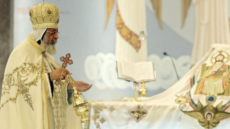 Egyptian President al-Sisi inaugurates Coptic cathedral on Orthodox Christmas