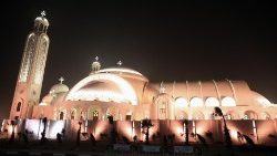 Egypt's new Cathedral of the Nativity of the Coptic  Orthodox Church.