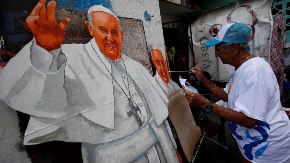 Warten auf den Papst  Panama bereitet sich auf das große Jugendtreffen mit  Franziskus vor fb3b56a76945