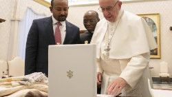 Pope Francis meets Ethiopian Prime Minister