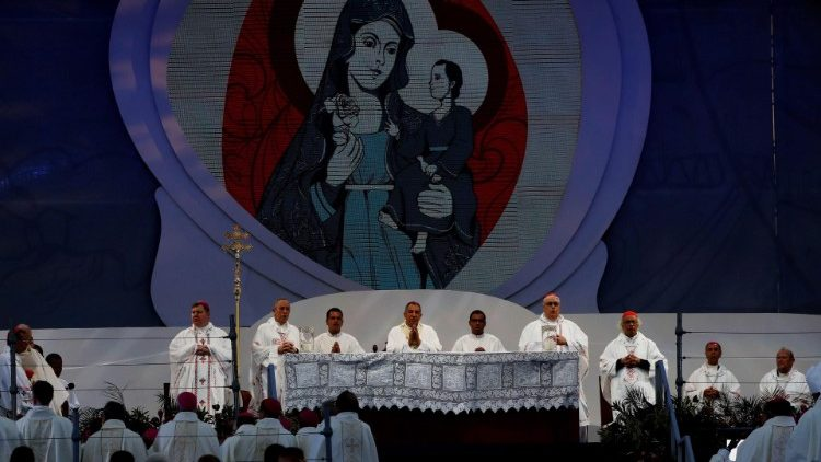 Archbishop Ulloa at the Opening Mass of WYD