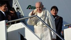 Pope Francis left for Panama