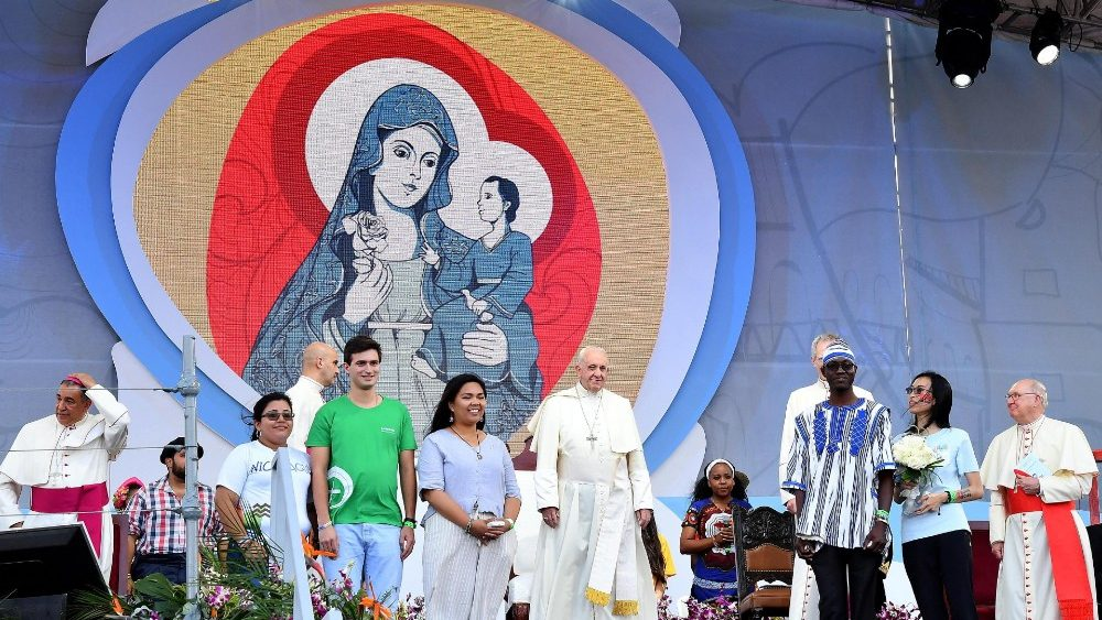 Pope Francis in Panama for World Youth Day (WYD)