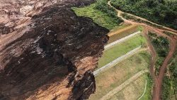 Farms and houses were destroyed when the dam collapsed