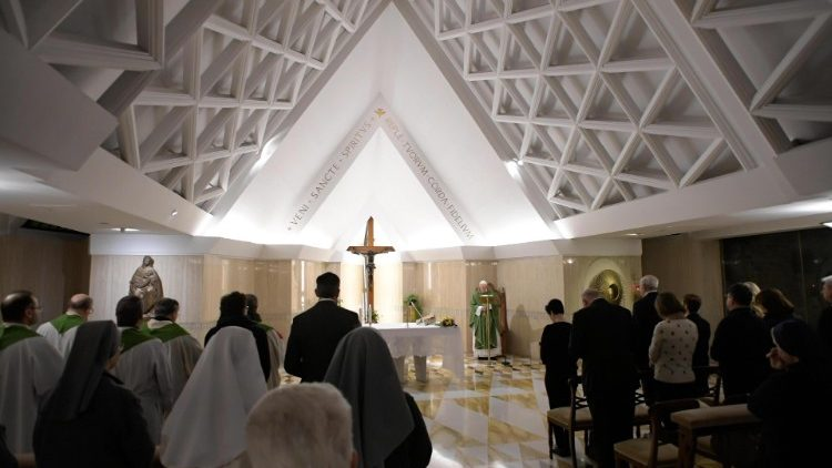 Pope Francis Holy Mass at Casa Santa Marta