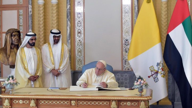 Pope Francis visits UAE