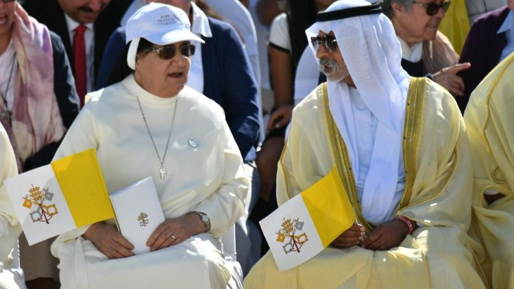 Image: Photo takes during Pope Francis' visit to UAE (ANSA)