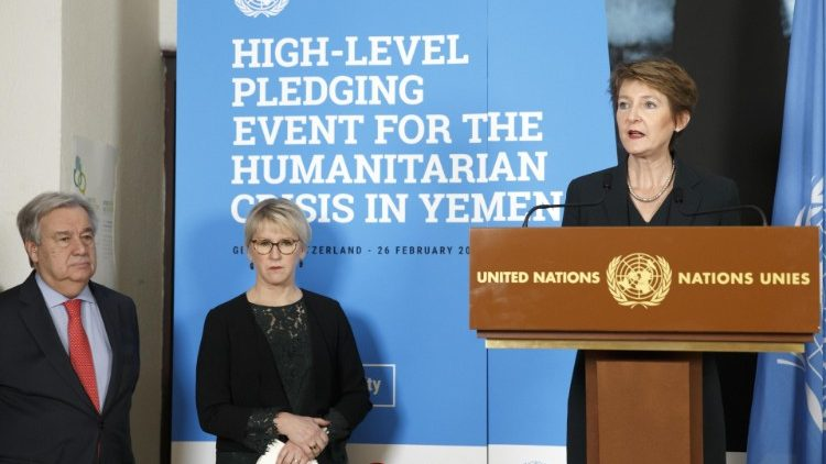 High-Level Pledging Event for the Humanitarian Crisis in Yemen in Geneva
