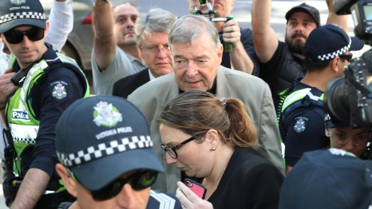 Australia's most senior  Cardinal George Pell found guilty