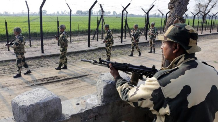 Indian forces remain on high alert along the border with Pakistan.