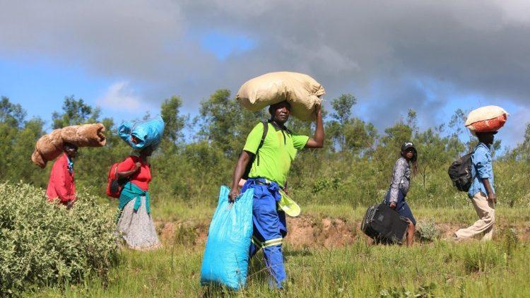 Zambia, sfollati a causa del ciclone Idai