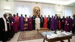 Pope Francis, spiritual retreat with the participation of the Civil and Ecclesiastical Authorities of South Sudan