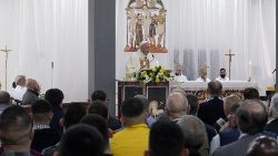 Pope Francis in Velletri prison to celebrate Holy Thursday Mass