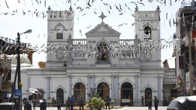 St. Anthony's Shrine in Colombo, one of the targets of Sri Lanka's terrorist attacks on April 21, 2019.