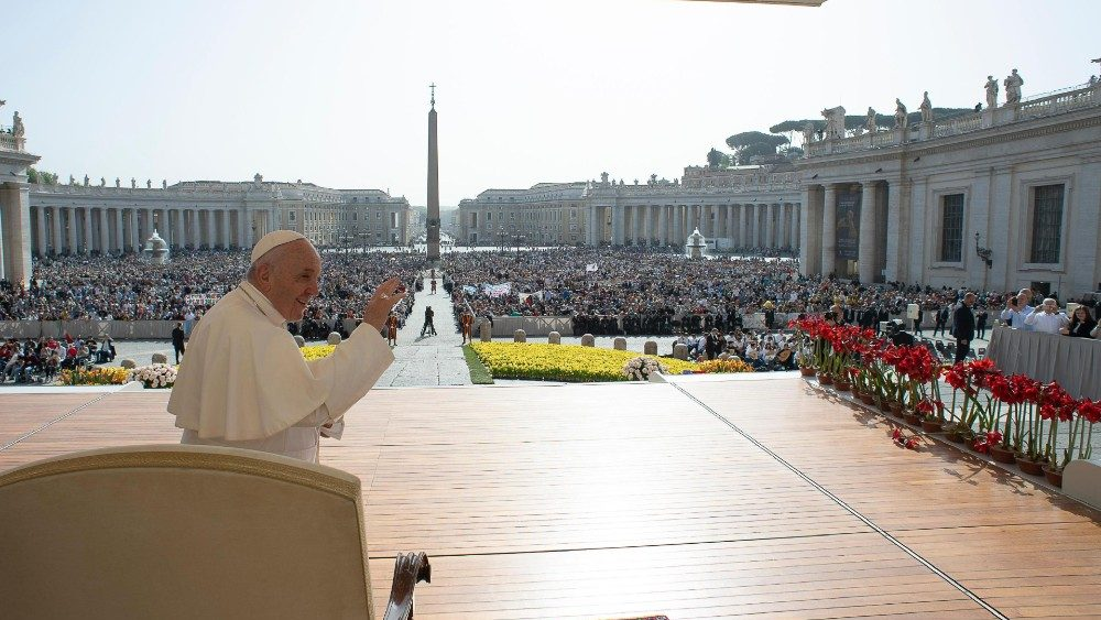 Pope Francis' general audience