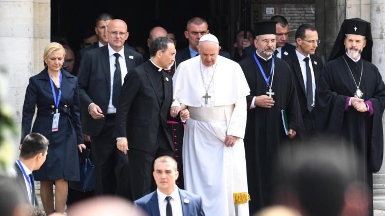 Papa Francisco visita Bulgaria