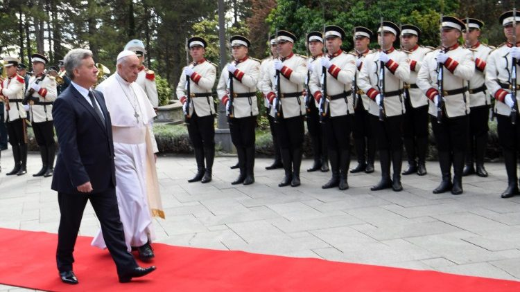 Pope Francis's trip in Bulgaria and Northern Macedonia