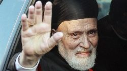A file photo of Cardinal Nasrallah Sfeir