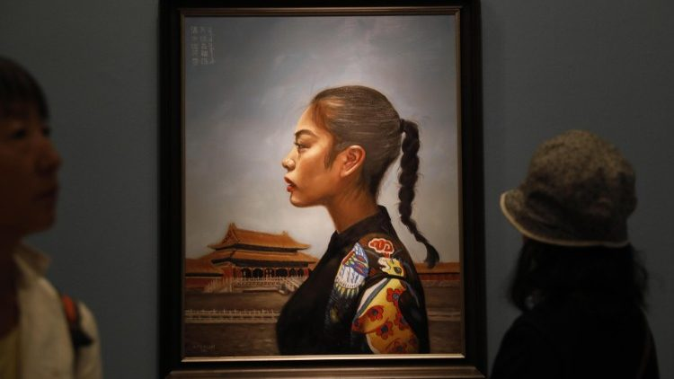 Beauty unites us, art exhibition of Vatican in China
