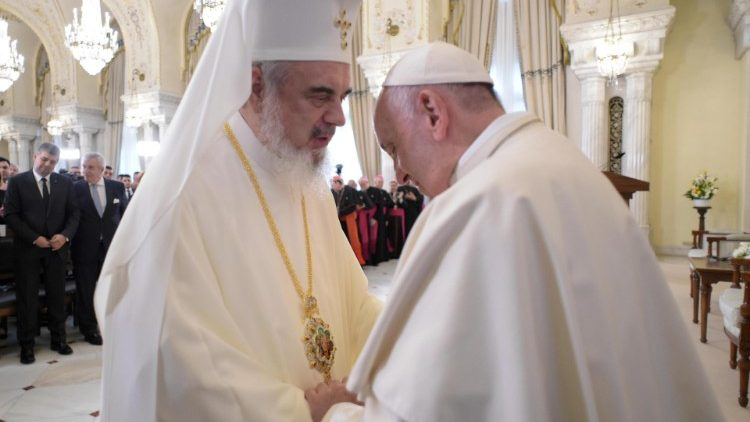 Pope Francis visits Romania