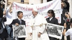 Pope Francis is scheduled to visit Nagasaki and Hiroshima during his visit to Japan.