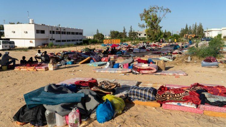 Centro migranti di Tajoura