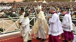 MOZAMBIQUE POPE FRANCIS AFRICA TOUR