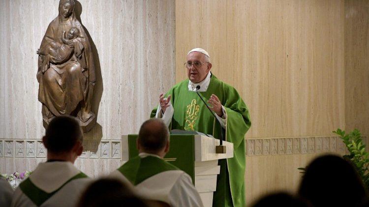 Thánh lễ tại nhà nguyện thánh Marta 08.10.2018