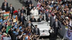 Vatican - Canonization Mass of five new Saints