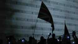 Protesters rally on the streets of Hong Kong