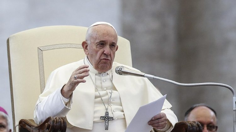 Pope Francis at the General Audience