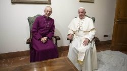 Pope Francis receives Justin Welby
