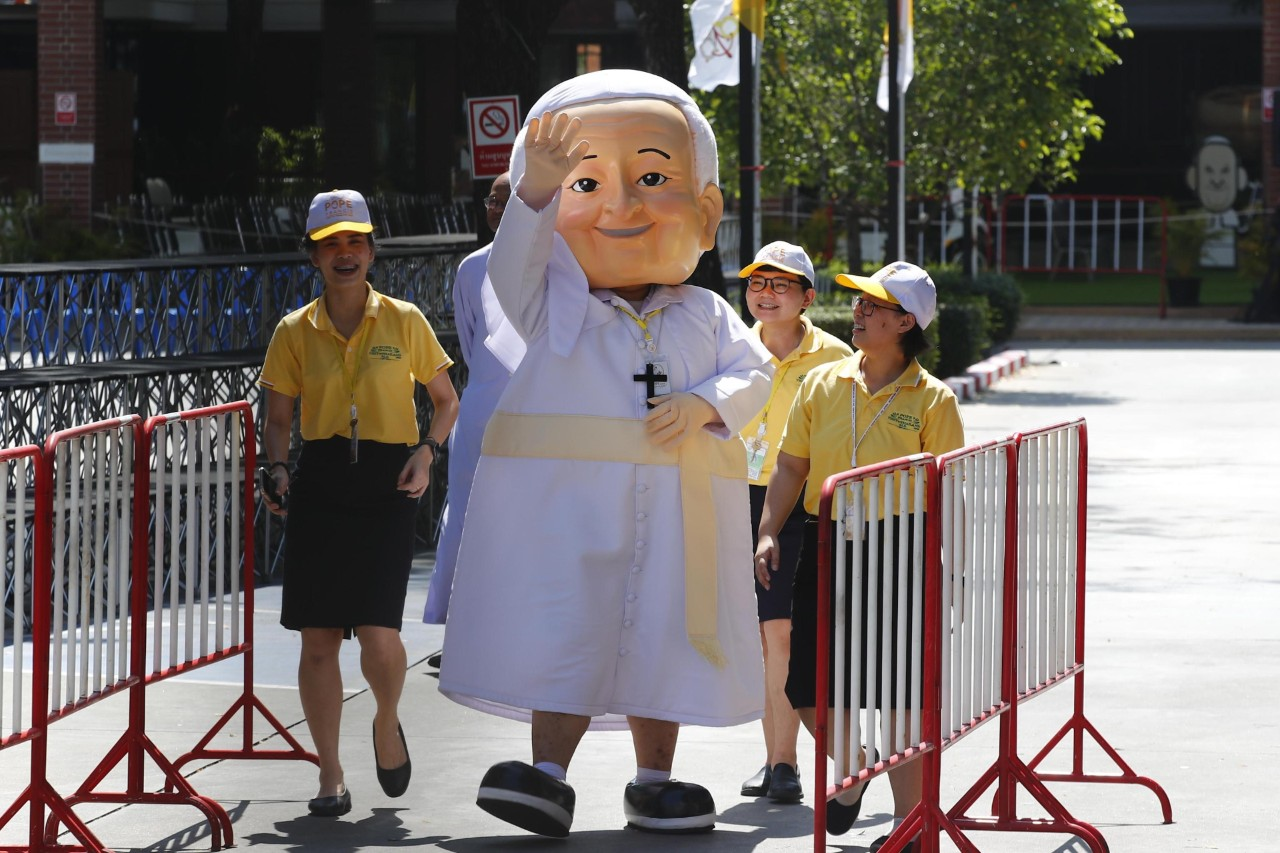 THAILAND CHURCHES POPE FRANCIS VISIT
