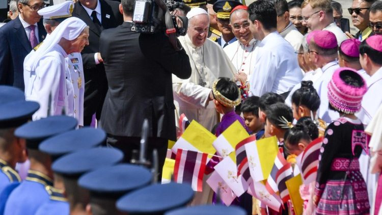 POPE FRANCIS THAILAND