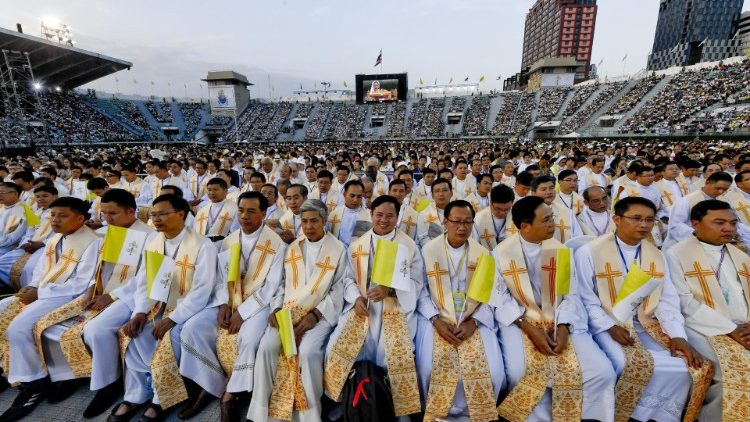 Pope in Thailand