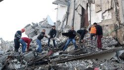 Earthquake aftermath in Albania