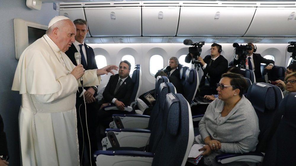 Entrevista con el Papa