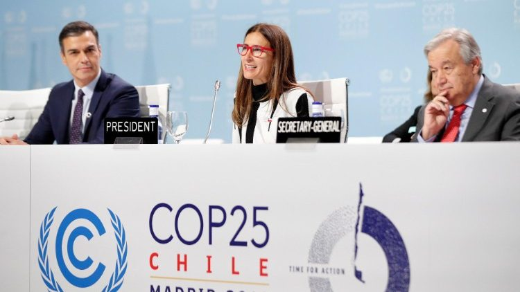 Climate Change Conference en Madrid.