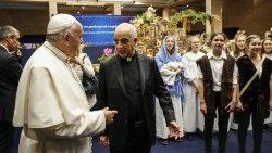教宗方济各与菲西凯拉总主教