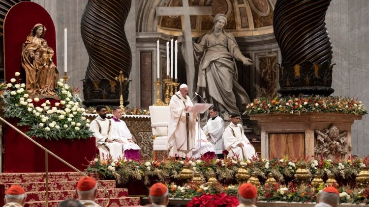 Pope Francis Christmas Holy Mass