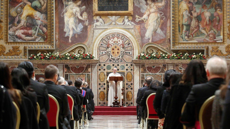 Papa discursa ao Corpo Diplomática acreditado junto à Santa Sé