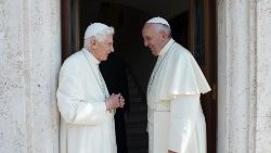 (FILE) a visit to Pope Emeritus Benedict VI...