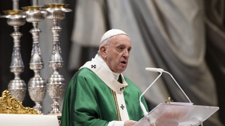 Pope Francis' Sunday Mass of the Word