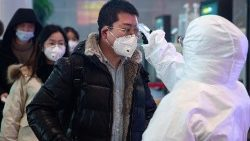 China coronavirous outbreak thermal screening