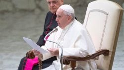 Pope Francis at the General Adience
