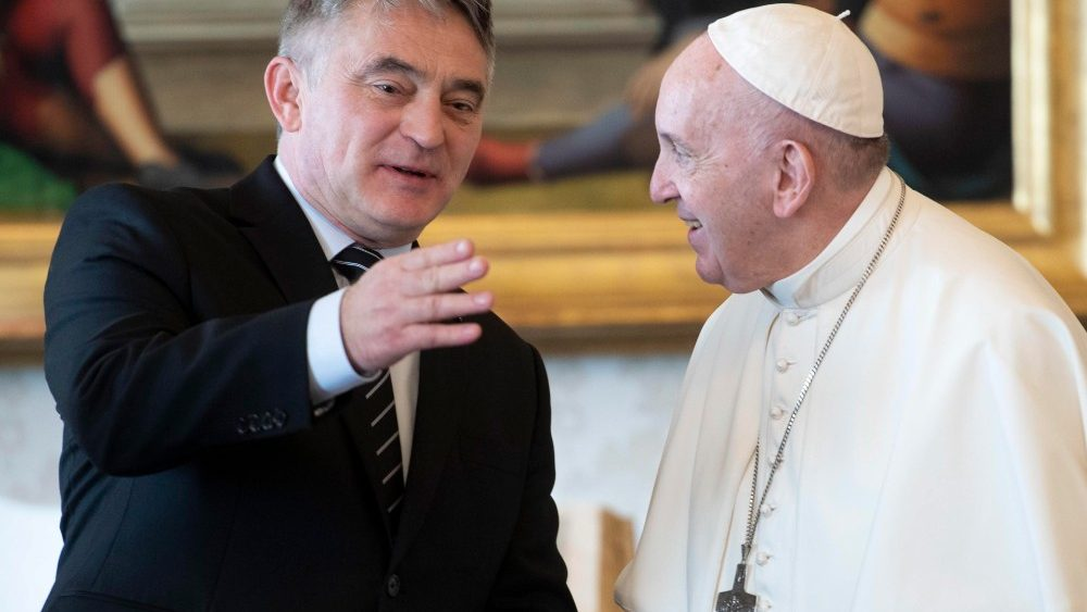 VATICAN BOSNIA AND HERZEGOVINA DIPLOMACY
