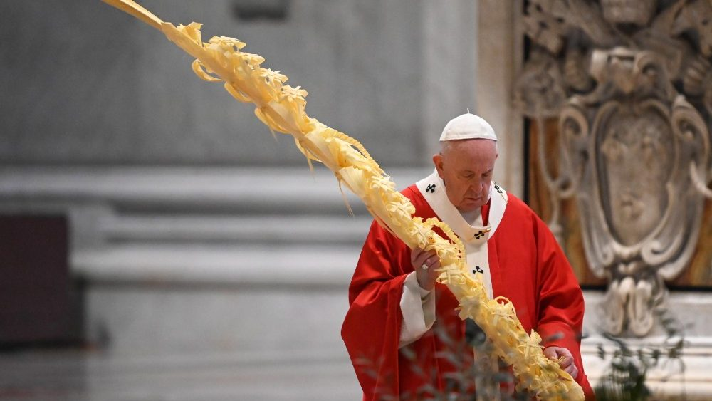 VATICAN POPE PALM SUNDAY