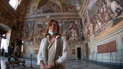 Barbara Jatta, Director of the Vatican Museums