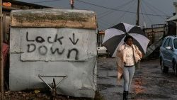 Cape Town lockdown amidst storm