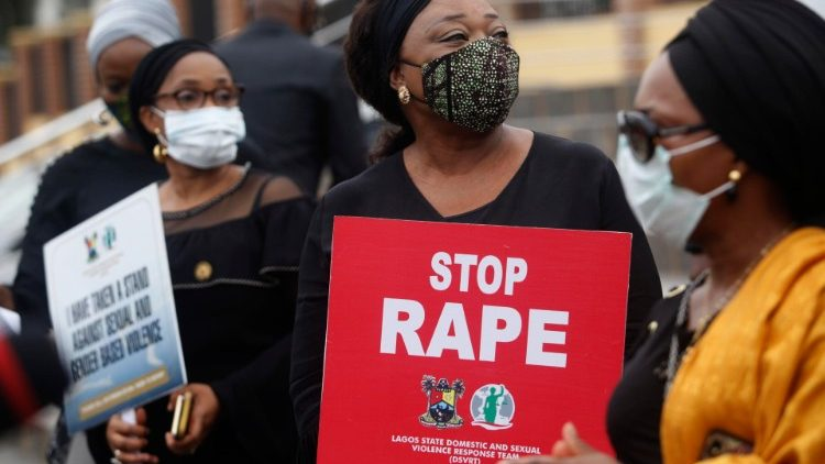 Nigeria walk against Rape rally